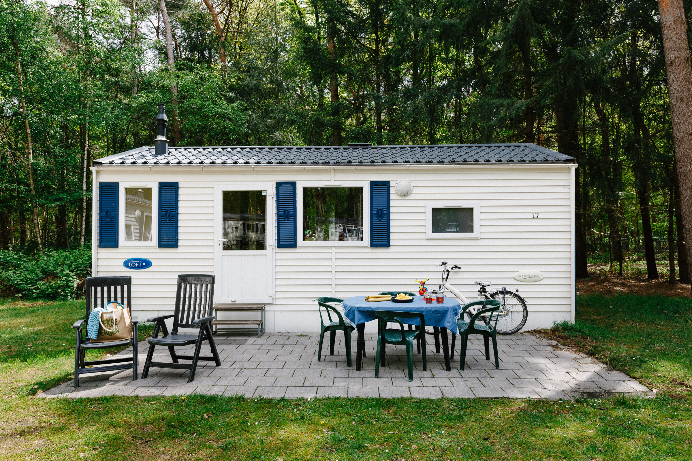 Chalet Plus (4 + 1 persoons)